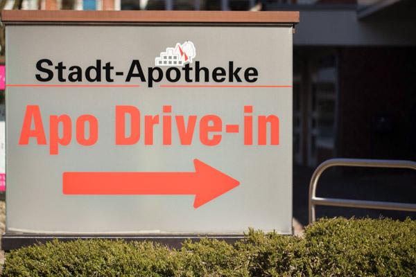 Hinweis Apo Drive in